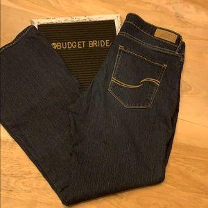 2/$15 Levi's signature modern boot cut short